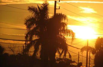 Sunset in Lakeworth Florida