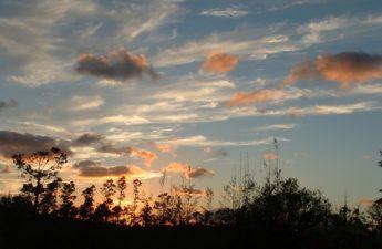 Sunset in Abaco Bahamas