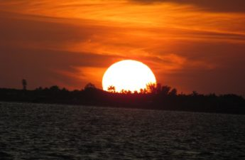 Orange Sanibel Sunset