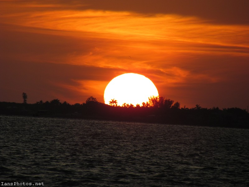 Sanibel Sunset on the Causeway